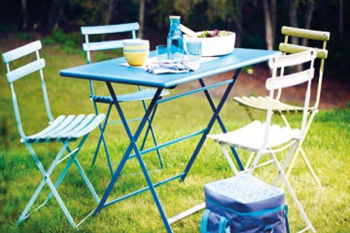 Meubles de jardin , table arc en ciel emu - Meubles et décoration ...