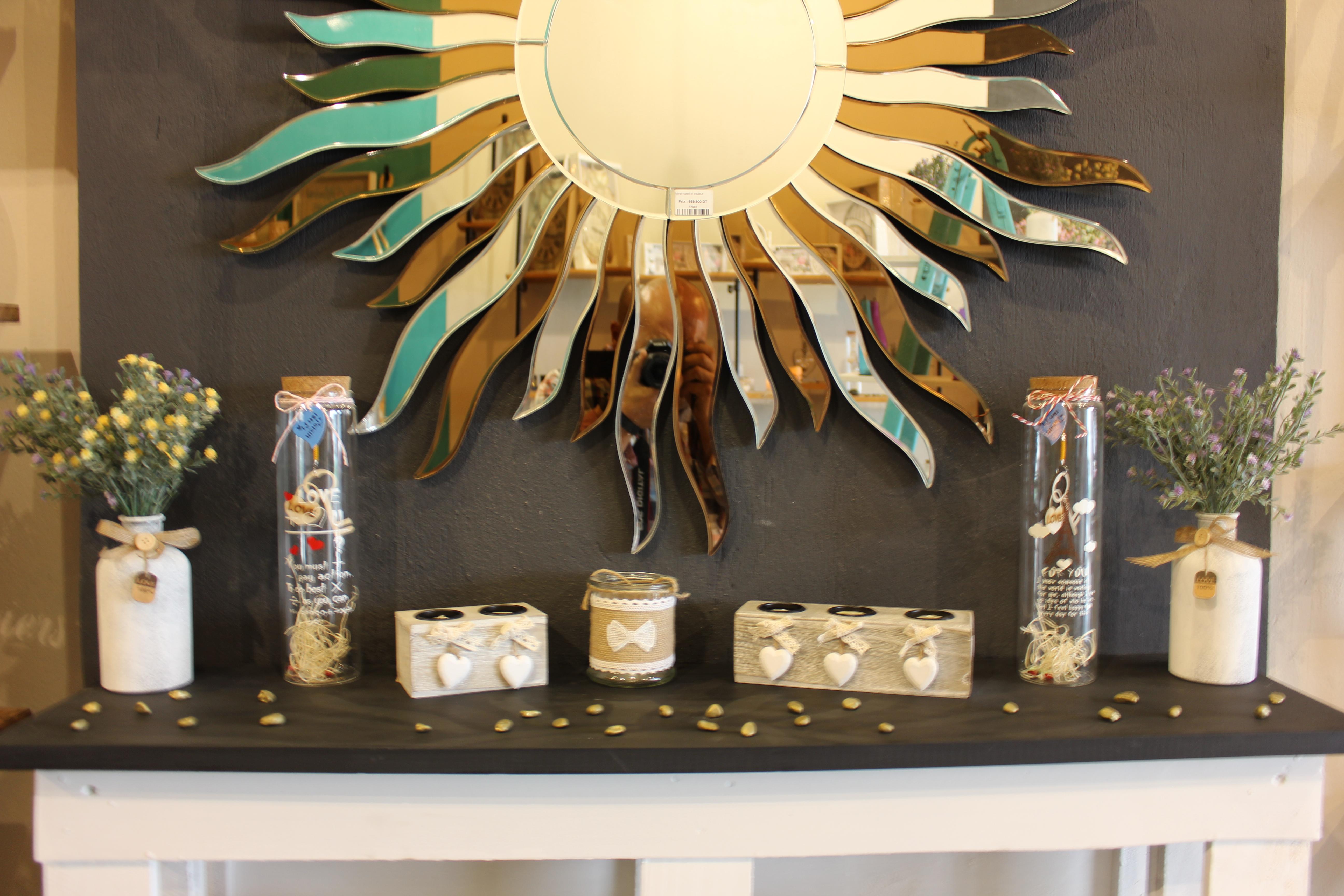 Luminaire Salle De Bain Mr Bricolage ~ miroir soleil meubles et d coration tunisie