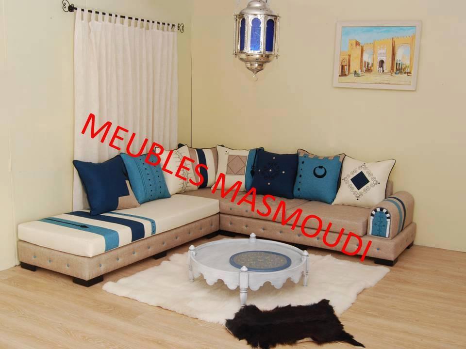 SEJOUR YASMINE BLEU - Meubles et décoration Tunisie
