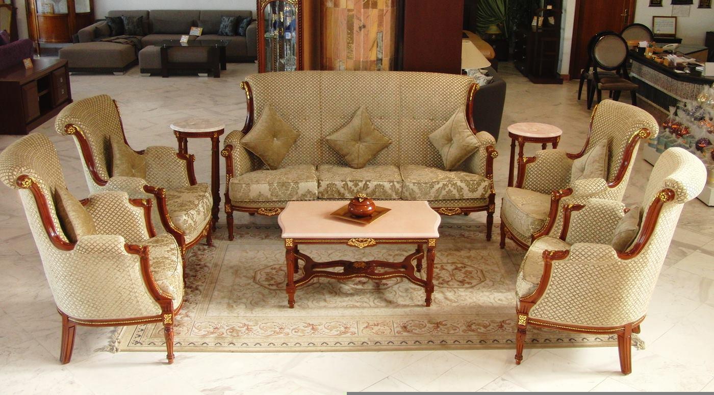 Salon royal meubles et d coration tunisie for Salon meubles et objets