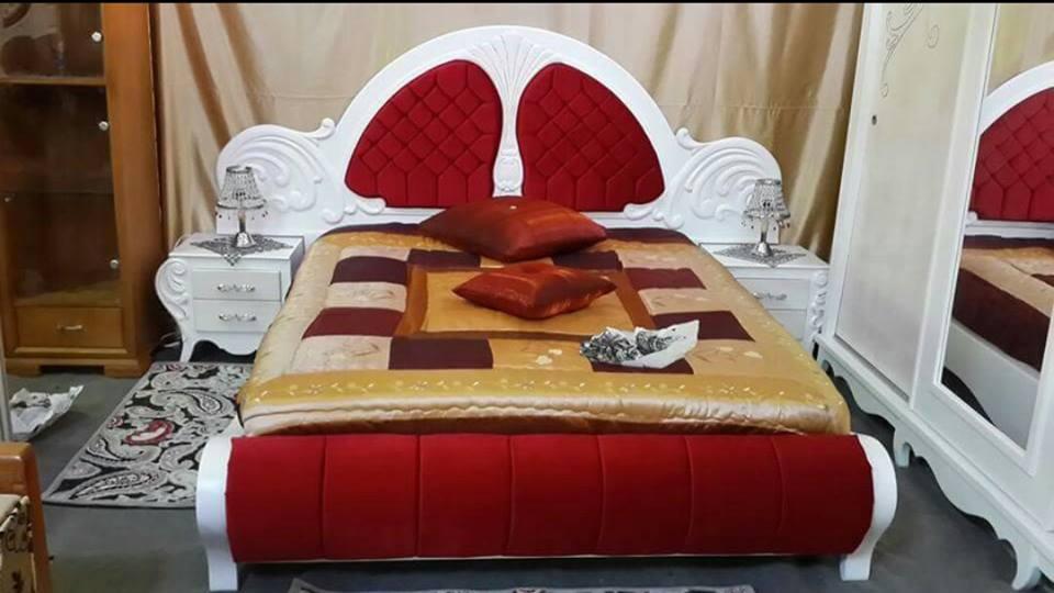CHAMBRE A COUCHER ROUGE KELIBIA - Meubles et décoration Tunisie